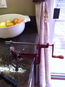 Apple Peeler-Slicer
