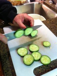 Slicing the Cucumbers