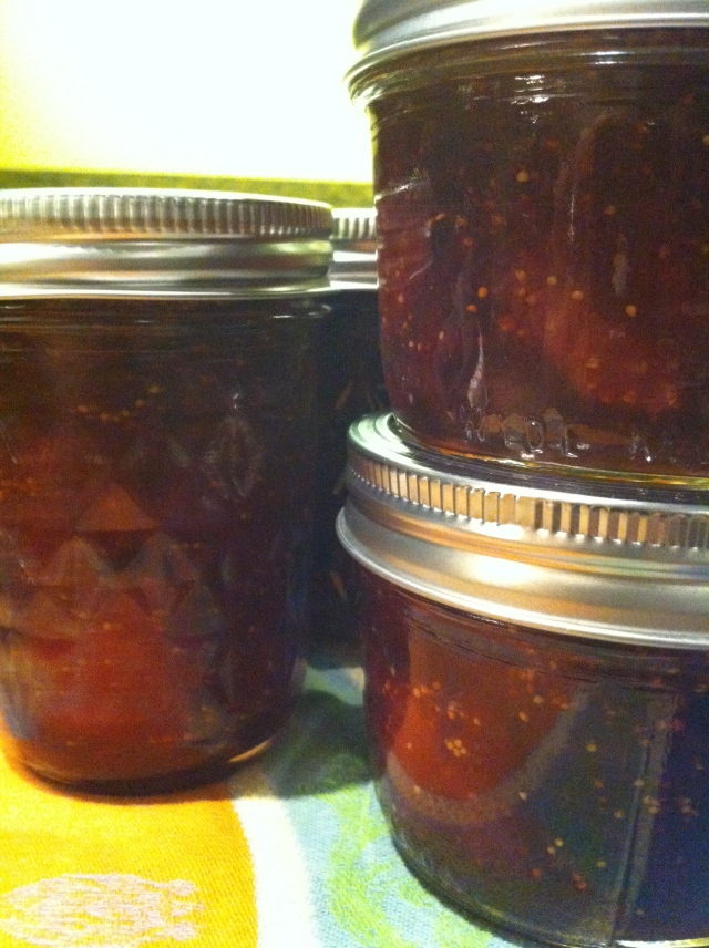 Fig-Strawberry Jam