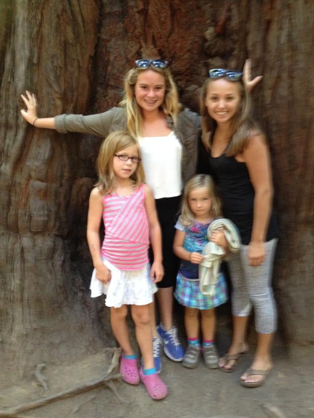 Kaily, McKenzie, Kailyn & Ellie
